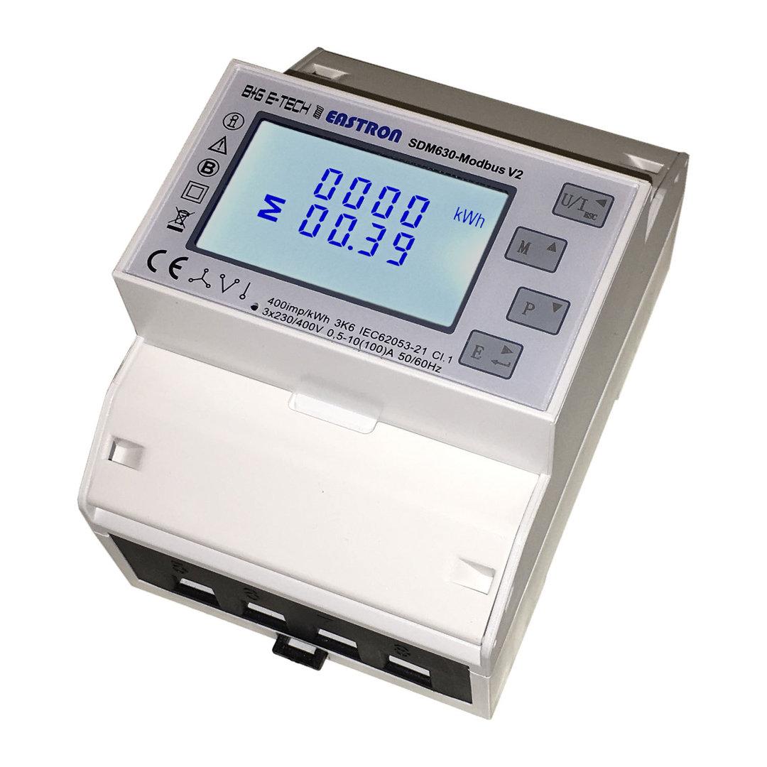 Power counter SDM630 Modbus (zero injection)